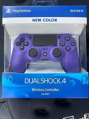 OEM Official Sony PS4 DualShock Controller- Electric Purple (Limited Edition)NEW