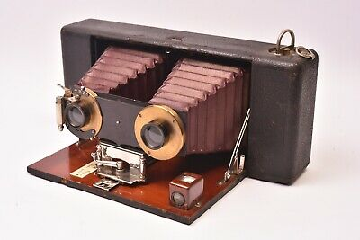 Device Photographic Stereo Hawkeye Model N°1 Blair Camera Co