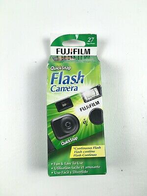 Fujifilm Quicksnap Flash 400 35mm Single Use Film Camera Exp 04/22
