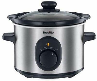 New Ambiano Home Starter Slow Cooker Aldi Model 85355 3.5L 200W Silver
