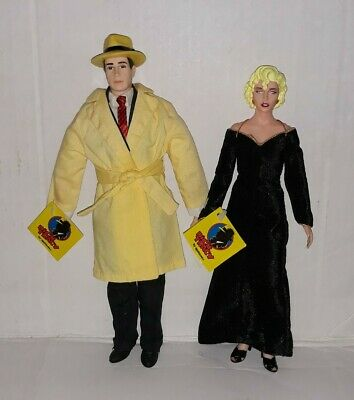 """Vintage 14"""" Tall Breathless Mahoney Dick Tracy Doll By Applause SPECIAL LOT!!!"""