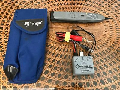 Ideal Amplifier Probe And Tempo Communications Greenlee 77HP-G/6A Tone Generator