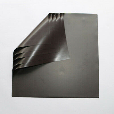 A4 Magnetic Sheets 1mm 2mm Thick Self Adhesive Flexible Refrigerator Magnet Pad