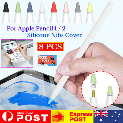 Silicone Nib Case Replacement Stylus Pen Tip Cover For Apple iPad Pencil 1 2