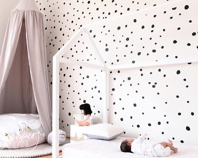 165 Hand Drawn Polka Dots Irregular Spots Modern Wall Decal Vinyl Stickers