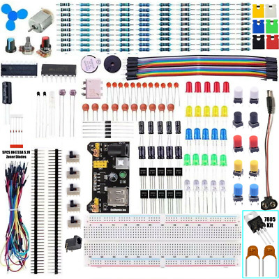 1360 Tie Points with Jumper Wires Kit Solderless Breadboard Protoboard PCB