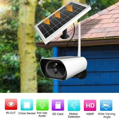 4G Solar Power IP Camera Outdoor Wireless 1080P Waterproof P2P Security Camera