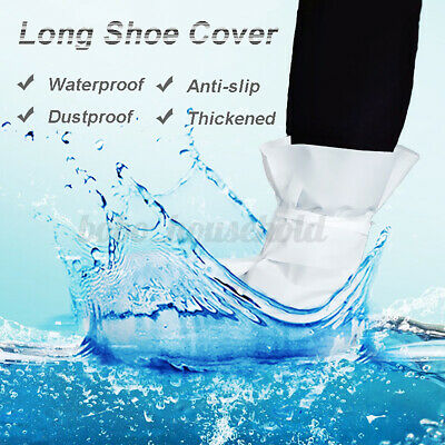 Non-woven Disposable Shoe Cover Anti Slip Cleaning Overshoes Boot Fabric White