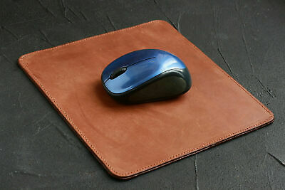 Premium Leather BeaverCraft Mouse Pad