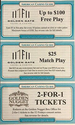 American Casino Guide 2020 Coupon Booklet - Save Hundreds in Las Vegas!