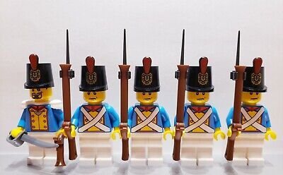Lego PIRATES NAPOLEONIC WARS FRENCH Dragoon Infantry Soldier MINIFIG