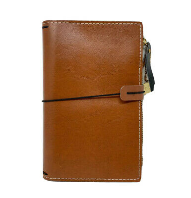 "Prima Traveler/'s Journal Leather Essential 5/""X7.25/""-Nightfall"
