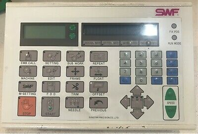 SWF Embroidery machine Control Panel Complete - Suits A - B & C 'UK' Series.