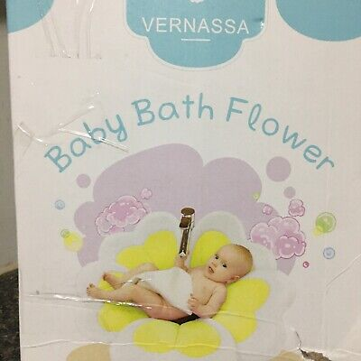 VERNASSA - Baby Bath Flower Bath Pink And White Never Used