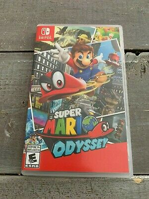Used Super Mario Odyssey (Nintendo Switch, 2017) - Adult Owned, Played Once