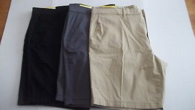 Clairborne Stretch Flat Front Mens Shorts Size 42 Various Colors