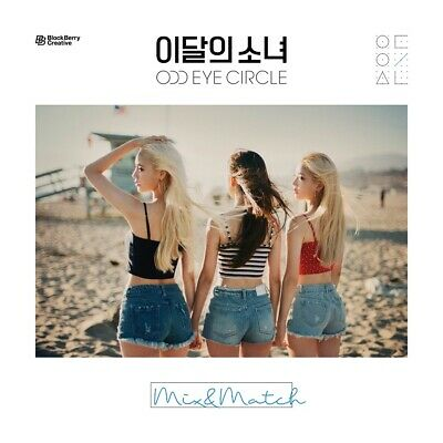 [Reissue] MONTHLY GIRL ODD EYE CIRCLE - MIX&MATCH Normal ver. CD+Tracking no.