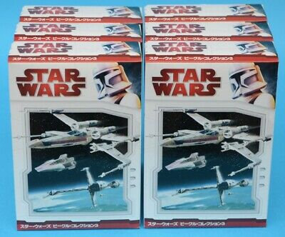 F-toys Star Wars - Vehicle Collection 3 - FULL SET of 6 - Trading Kit - MIB 2010