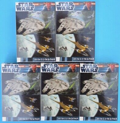 F-toys Star Wars - Vehicle Collection 5 - set of 5 - Trading Kits - MIB