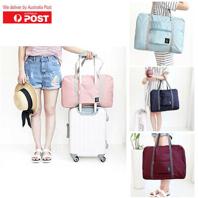 Foldable Travel Large Duffel Bag Waterproof Cloth Storage Suitcase Luggage Bag