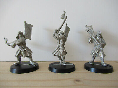 Games Workshop Citadel Lord of the Rings Lotr Khandish Warriors with Axe Metal