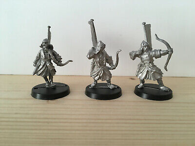 Games Workshop Citadel Lord of the Rings Lotr Khandish Warriors with Bows Metal