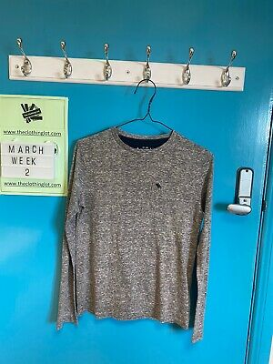 Abercrombie & Fitch Kids Grey Jumper Age 11-12