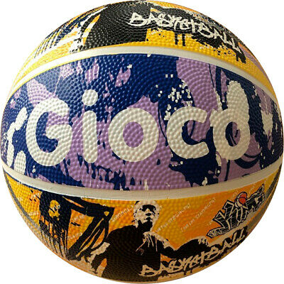 BASKETBALL - GIOCO STREET BASKET BALL - GRAPHIC DESIGN - sizes 5 and 7