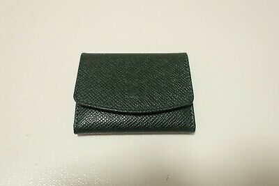 Authentic LOUIS VUITTON  Green Taiga Cuff Case #5401