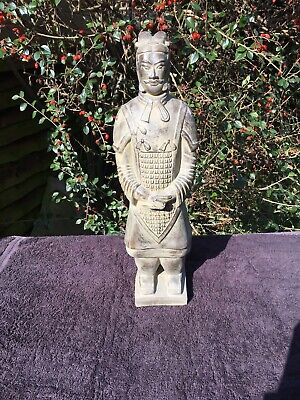 Large Vintage Oriental Warrior Figure