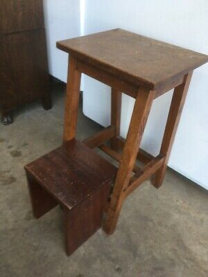 1950's Beech Shop or Kitchen Steps