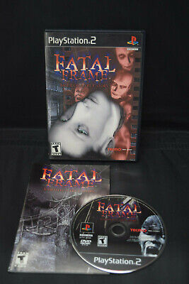 Fatal Frame PS2 Playstation 2 Complete TESTED WORKS!! Survival Horror Tecmo