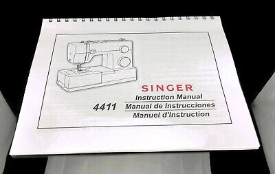 Singer 2009 Athena Sewing Machine Instructrions Manual User Guide Reprinted Copy