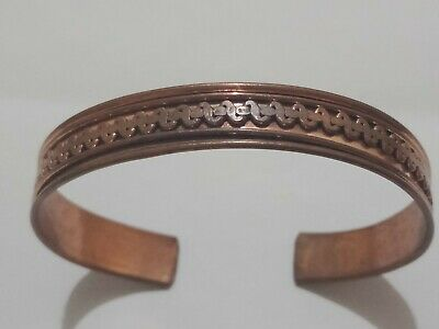 Ancient Viking Highly Detailed bronze Bracelet Great save RARE