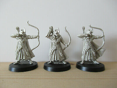 Games Workshop Citadel Lord of the Rings Lotr Galadhrim with Bow Metal