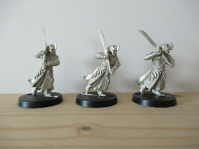Games Workshop Citadel Lord of the Rings Lotr Galadhrim with Sword Metal