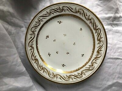 Assiette Porcelaine De Paris Manufacture De Locret Debut 19 Eme Siecle