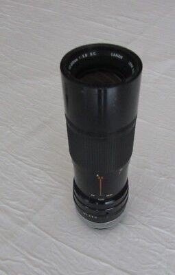 Canon Zoom lens FD 100–200 mm 1 : 5.6