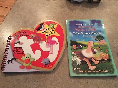 """TY Beanie Babies Rosie""""s Guide third Ed. & Collector's Value Guide Spring 1998"""