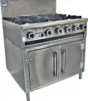 Cha Siew Oven Ranges - 6 burner Complete Commercial Equipment|