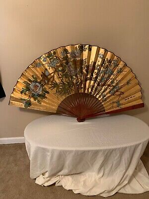 Antique Oriental Japanese? Chinese?  Hand Fan