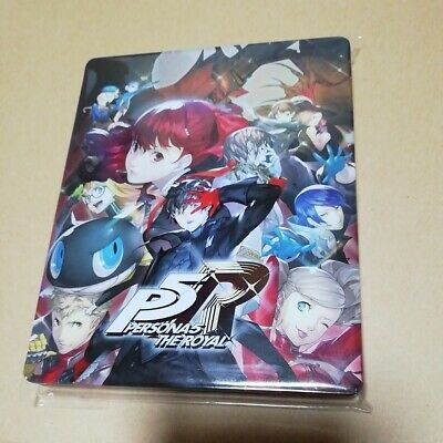 PERSONA 5 THE ROYAL Steelbook for PS4 Game Disc Japan Limited Edition from UK