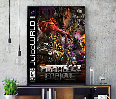 Death Race for Love (by Juice WRLD) Album Cover Poster Professional Grade Print