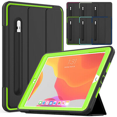 For Apple iPad 10.2'' 2019 7th Gen Shockproof Full Protective Smart Case Cover