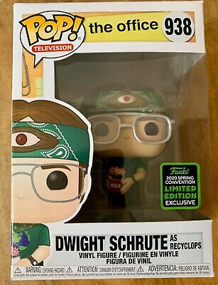 Funko POP! The Office - Dwight Schrute Recyclops 2020 ECCC Shared Exclusive
