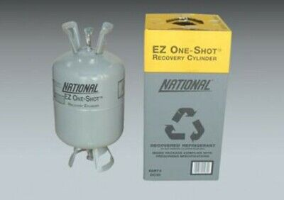 National DC30 Refrigerant Recovery Reclaim Cylinder Tank - 30lb Pound