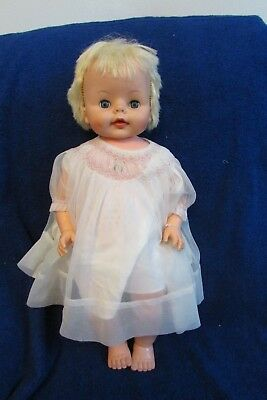 Vintage Deluxe Reading Baby Boo Doll - 1965