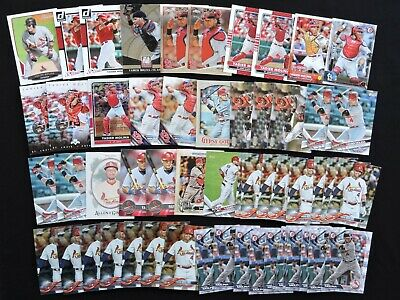 Lot of 55 Yadier Molina Cards 2013-2019 Bowman, Topps Update, Chrome +