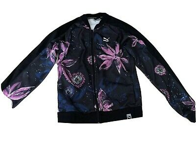 Puma Tracksuit Floral Girls Top 13/14 Years