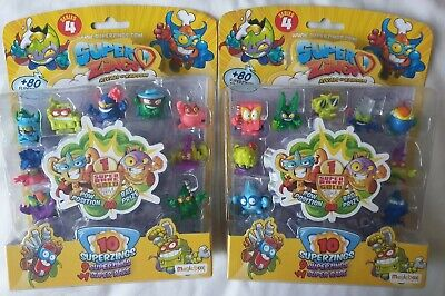 Super zings rivals of kaboom series 4 - Pow Position or Bad Price - 2 packs